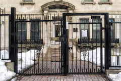 Consulate General of the Russian Federation. In Montreal, Quebec, Canada.n stock photos