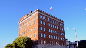 Consulate General of the Russian Federation in San Francisco, USA, stock footage