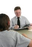 Consulente di consiglio - ascoltando Fotografie Stock Libere da Diritti