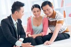 Consulente finanziario fotografie stock