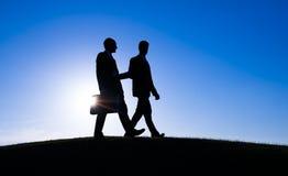 Consulente in materia Concept di fiducia di riunione d'affari Fotografia Stock Libera da Diritti