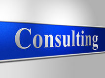 Consult Consulting Indicates Refer To And Ask Stock Photos