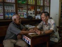 Consulta asiática de la medicina Foto de archivo libre de regalías