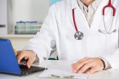 Consulta médica Fotos de archivo libres de regalías
