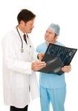 Consulta quirúrgica fotos de archivo
