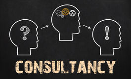 Consultancy - Business Concept on chalkboard Stock Image