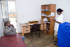 The consultancy and minor surgery room Stock Image