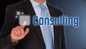 Consultant  Images libres de droits