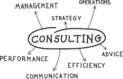 Consultant Photo stock