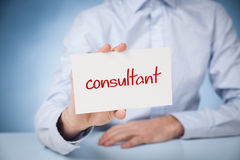 Consultant Royalty Free Stock Photography