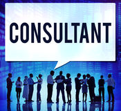 Consultant Advise Advisor Experience Information Concept.  royalty free stock photography