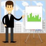 Consultant economist vector Royalty Free Stock Photos