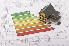 Consultants. Environmental trend home responsibility model housing Royalty Free Stock Photo