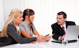 Consultation. Royalty Free Stock Image