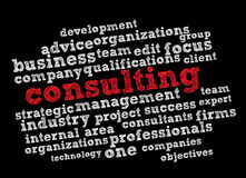 Consultation illustration stock
