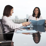 Consultation with insurance agent Royalty Free Stock Images