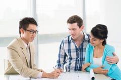 Consultation Stock Photo
