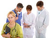 Consultation médicale photo stock