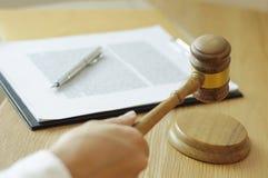 Consultation pour des avocats et la coopération d'affaires photo stock
