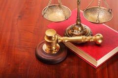 Consultation sur des thèmes légaux Photographie stock libre de droits