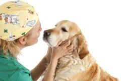 Consultation vétérinaire Photos libres de droits