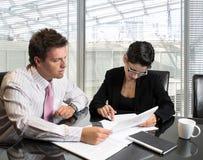 Consultazione di affari Immagine Stock