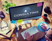 Consulting Advisory Assistance Suggestion Guidance Concept Stock Photo