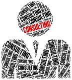 Consulting - business service. Royalty Free Stock Photo