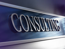 Consulting Firm, Consultancy Company Stock Image