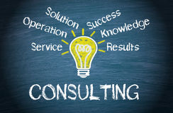 Consulting illustration Stock Photo