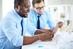 Consulting internet Stock Photos