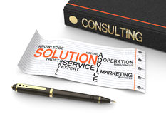 Consulting koncept Stock Photography
