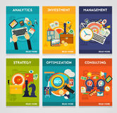 Consulting, Management, SEO, Analytics, Investment and Strategy Concept Royalty Free Stock Photography