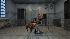 Consulting room. 3D CG rendering of a comsulting room Stock Image