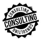 Consulting rubber stamp Royalty Free Stock Photo