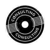 Consulting rubber stamp Stock Image