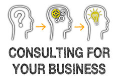 Consulting for your business Royalty Free Stock Images