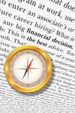 Consultoría de negocios financiera Fotos de archivo libres de regalías
