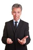 Consultor que explica su estrategia Imagen de archivo libre de regalías