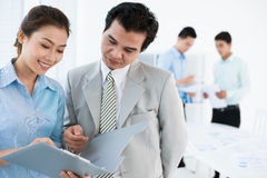Consultoria empresarial Imagem de Stock