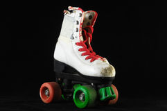 Consumed Roller Skate Royalty Free Stock Photos