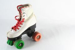 Consumed Roller Skate Royalty Free Stock Photography
