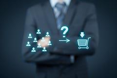Consumer behavior Stock Image