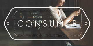 Consumer Customer Service Satisfaction Shopper Concept stock photography