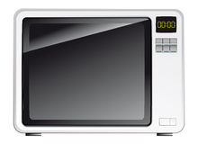 Consumer electronics - microwave oven Stock Photography