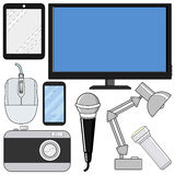 Consumer electronics Royalty Free Stock Photo
