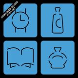 Consumer goods icon set Stock Photography