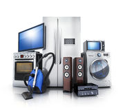 Consumer and home electronics Royalty Free Stock Photo