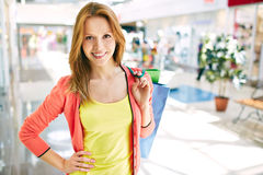 Consumer in the mall Stock Photos