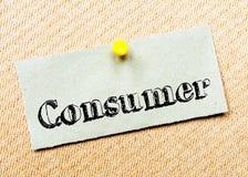 Consumer Message Royalty Free Stock Photos
